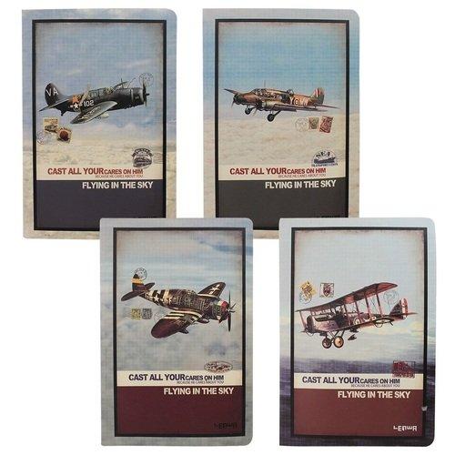 """Блокнот """"Самолет"""" А5, 60 листов, в линейку, ассортименте"""