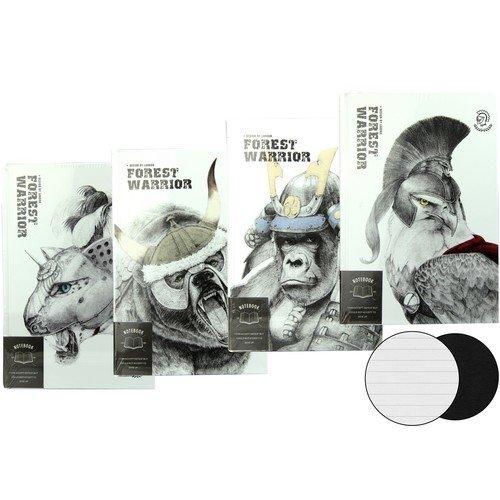 """Записная книжка """"Forest Warrior"""" А5, 112 листов, в линейку, ассортименте"""