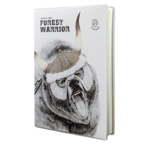 """Записная книжка """"Forest Warrior"""" А5, 80 листов, в линейку"""