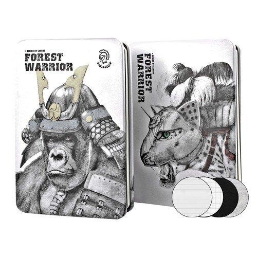 """Записная книжка """"Forest Warrior"""", 112 листов, 9,4 х 14,4 см, в ассортименте"""