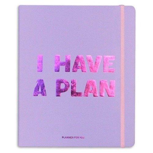 Планер I have a plan, 256 страниц, 17,5 х 22 см, фиолетовый планер my happy plan мятный