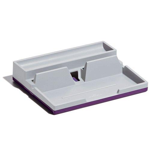 Настольный органайзер, фиолетовый