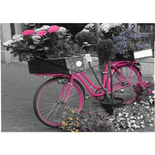 Конверт на кнопке Bike, А4 принт winter а4