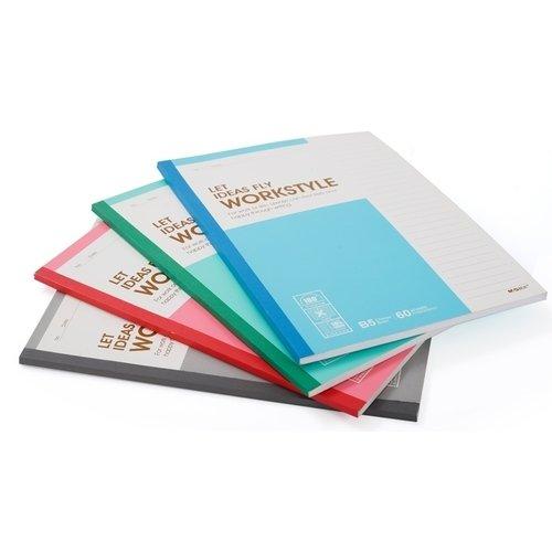 Блокнот B5, 40 листов, в линейку, 17,9 х 25,2 см, в ассортименте блокнот в5 121 стр а в линейку изумрудный