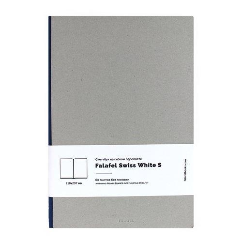 "Скетчбук на гибком переплете ""S4F Grey White Paper Simple"""