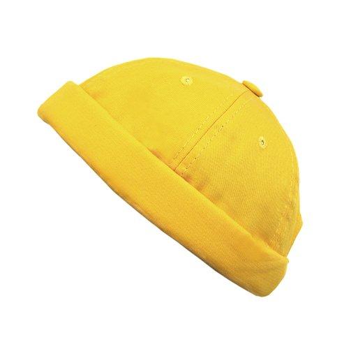 """Шапка """"Docker cotton cap yellow"""""""