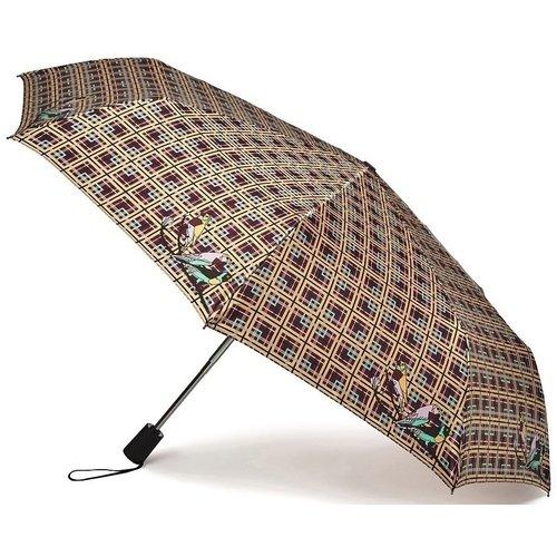 Зонт автоматический женский CheckYellow