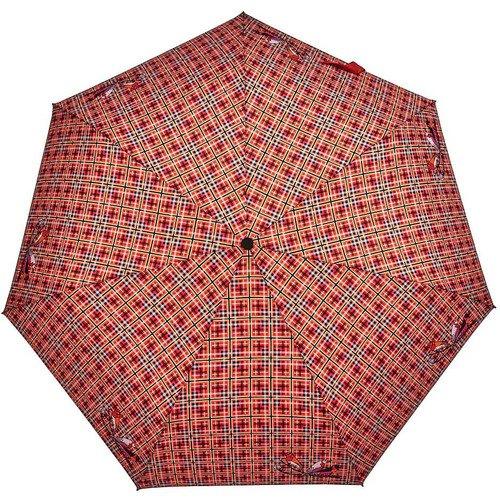 Зонт автоматический женский CheckRed
