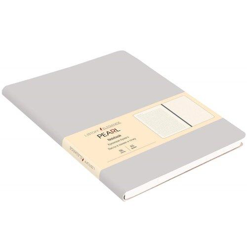 Книга для записей А5, 96 листов, серая