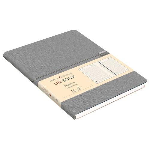 """Ежедневник недатированный """"Lite Book"""" А5, 136 листов, серый все цены"""