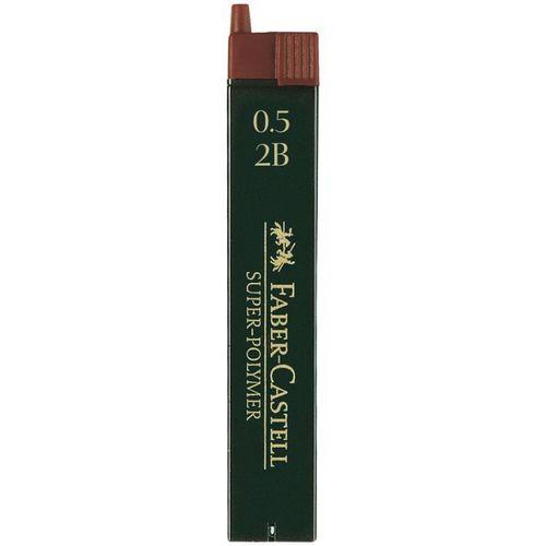 """Грифели для механических карандашей """"Super-Polymer"""", 0,5 мм, 12 шт."""