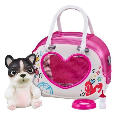 Cквиши-щенок в переноске OMG Pets! цена