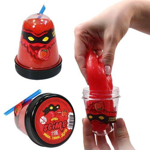 Фото - Игрушка Slime Ninja с ароматом клубники, 130 г развивающие игрушки slime cloud облачко с ароматом пломбира 200 г
