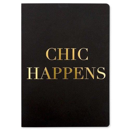 "Блокнот ""Chic Happens"" А5, 96 листов, в линейку Go Stationery"