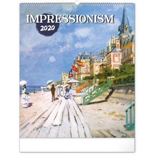 """Календарь на 2020 год """"Impressionism"""", 48 х 56 см Presco"""