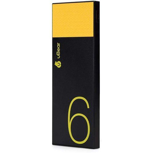 "Аккумуляторная батарея ""Light"", 6000 мАч, черно-желтая"