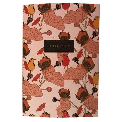 "Тетрадь ""Flower bird"" А5, 24 листа, в клетку, 90 г/м2"