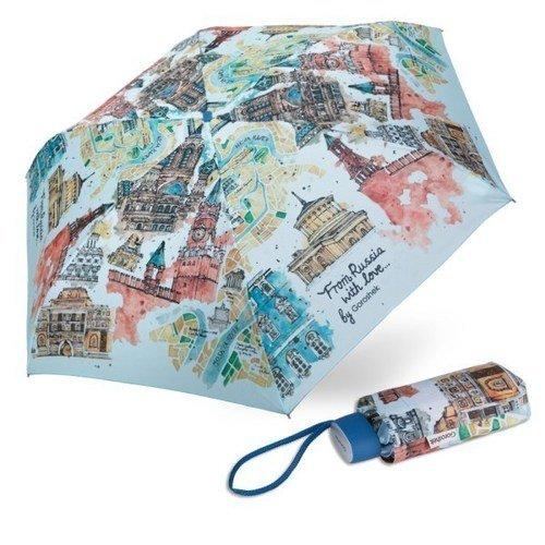 Зонт женский 659495-21, механический, 5 сложений