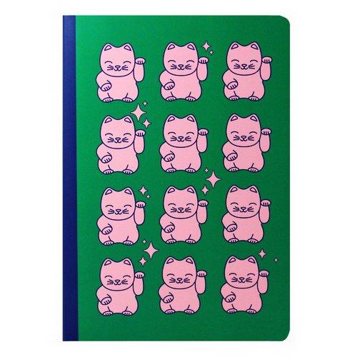 купить Тетрадь Maneki neko cat А4, 40 листов, в клетку дешево