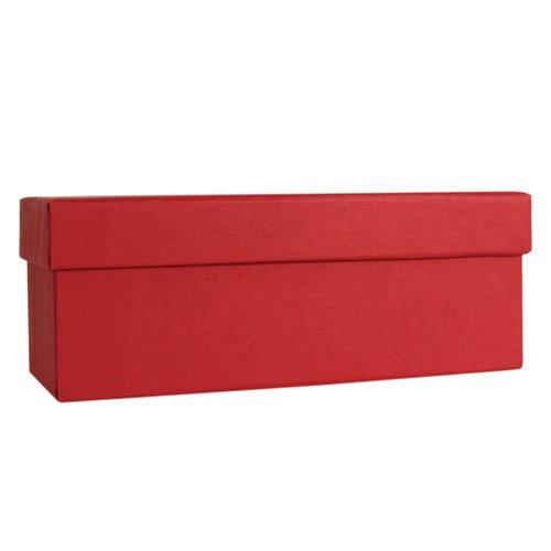 Коробка подарочная, 24 х 14 9,5 см, красная