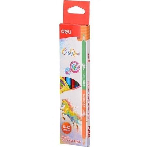 Карандаши цветные Colo Run цветные карандаши colorun ec00360 6 цветов