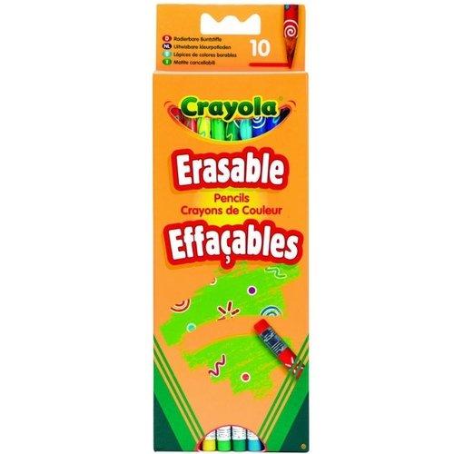 Набор цветных карандашей с корректорами, 10 цветов