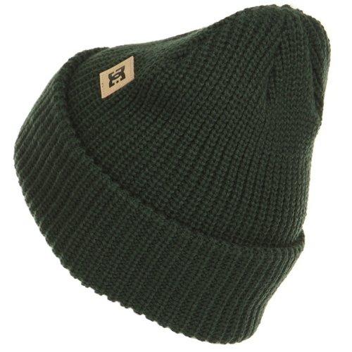 Шапка мужская EDYHA03077-GZF0, зеленая шапка brugge зеленая