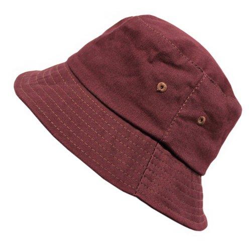 Панама Bucket Hat Cotton M, бордовая панама bucket hat cotton l синяя