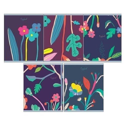 Фото - Тетрадь Фантастический сад А5, 48 листов, в клетку, в ассортименте тетрадь summer 48 листов в клетку 16 5 х 20 3 см