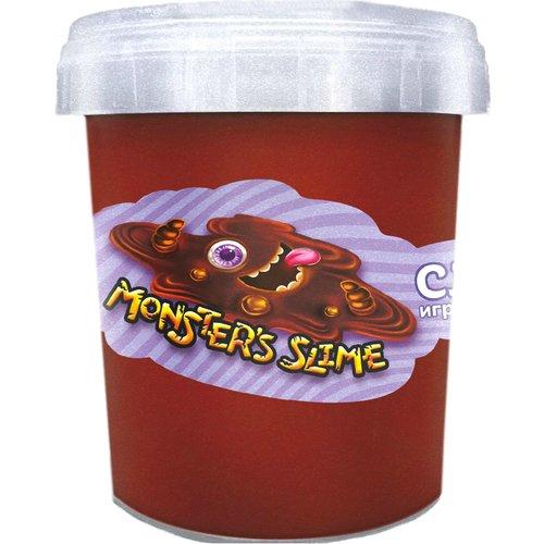 """Слайм """"Monster's Slime"""", коричневый"""