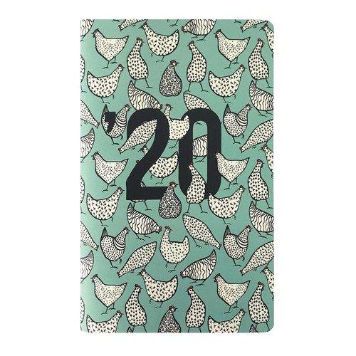 """Планер датированный на 2020 год """"Animals"""", 32 листа, 10,8 х 17,5 см"""