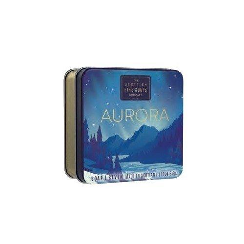 Мыло в жестяной коробочке Aurora, 100 г мыло ручной работы le blanc оливки в жестяной коробочке 100 г франция