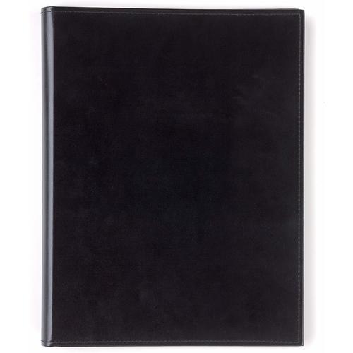цена на Папка для документов А4+, 20 файлов, 22,5 х 32,5 см, черная