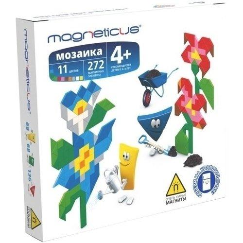 """Анимированная магнитная мозаика """"Цветы"""", 272 элемента"""