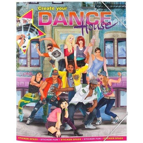 Альбом с наклейками Create your Dance House альбом с наклейками 1 попугай