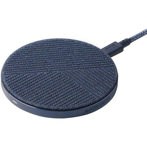 Фото - Беспроводное зарядное устройство Drop Fast Charge, 10 Вт, индиго беспроводное зарядное устройство rivapower va4911 черное 10 вт