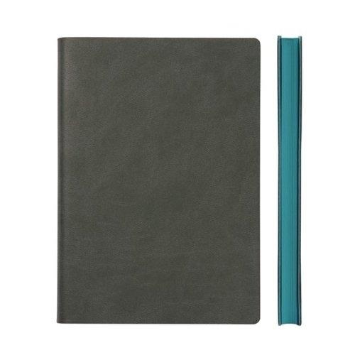 """Блокнот """"Signature Grid Notebook"""" A5, 88 листов, в клетку, серый"""