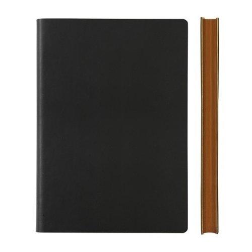 Блокнот Signature Grid Notebook A5, 88 листов, в клетку, черный блокнот pierre cardin lois blanc цвет золотистый черный a5 80 листов в клетку