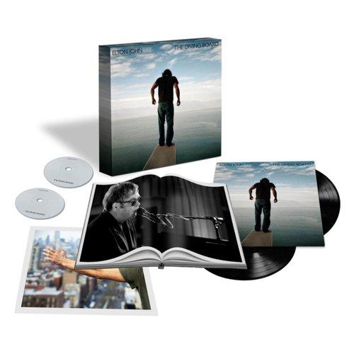 Elton John - The Diving Board (Limited Edition), 2LP + CD + DVD