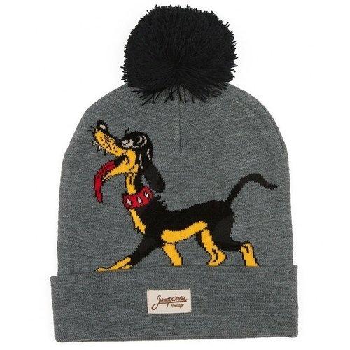 Шапка Big Doggy, серая шапка big doggy желтая