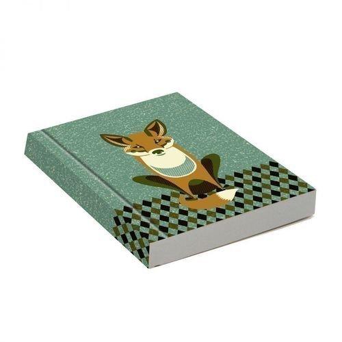 """Блокнот """"Wildlife Dusk Fox"""", 72 листа, в линейку"""