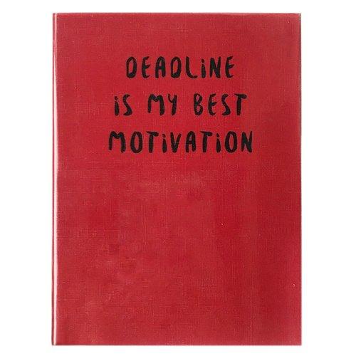 Мини-планер Deadline Best Moyivation, 144 листа, 12 х 16 см deadline