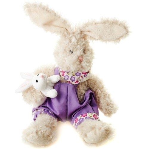 Купить Мягкая игрушка Заяц Костя , 26 см, Maxitoys, Мягкие игрушки