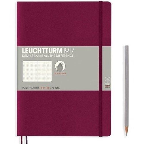 Записная книжка B5, в точку, красная записная книжка np b5 x 160p 0001