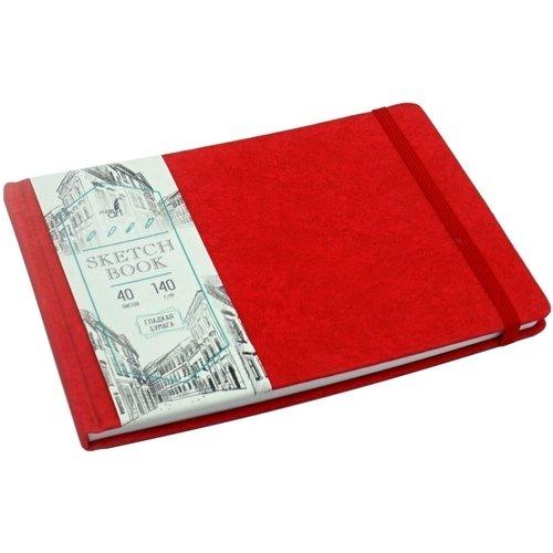 """Скетчбук """"Artclass"""" А5, 40 листов, 140 г/м2, красный"""