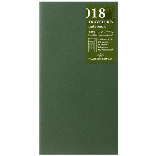 Блокнот-еженедельник недатированный, 32 листа
