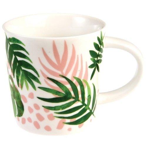 """Кружка фарфоровая """"Tropical palm"""", 250 мл"""