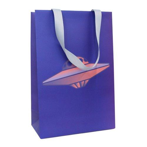 "Пакет подарочный ""Летающая тарелка"" А5, 16 х 24 8 см"