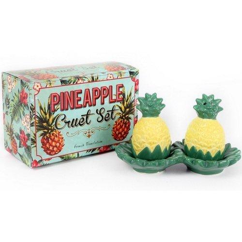 """Солонка и перечница """"Pineapple"""", 7,5 x 12 x 6 см"""