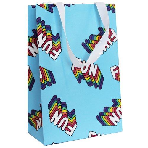 Фото - Пакет подарочный Fun Fun, 16 х 24 х 8 см пакет подарочный единорог на пончике а5 16 х 24 х 8 см
